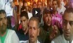 وقفة احتجاجية حاشدة لمساندة معتقلي أولاد الشيخ بمركز قلعة السراغنة