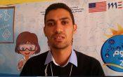 ذ خالد ياسين منسق النادي العلمي بثانوية مولاي عيسى بن ادريس ايت اعتاب بمناسبة تنظيم معرض العلوم