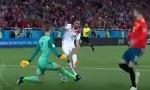 ملخص مباراة المغرب ــ اسبانيا 2-2