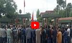 مسيرة احتجاجية لسكان دوار إحنصالن جماعة أيت تاكلا نحو عمالة أزيلال